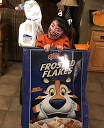 Tony the Tiger Homemade Costume