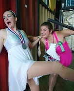 Tonya Harding and Nancy Kerrigan Homemade Costume