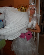 Tooth Fairy and Giant Tooth Homemade Costume