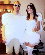 Tooth & Tooth Fairy Homemade Costume