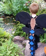 Toothless Alpha Homemade Costume