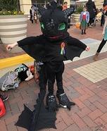 Toothless Dragon Homemade Costume