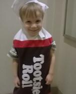 Tootsie Roll Homemade Costume
