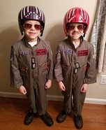 Top Gun Homemade Costume
