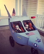 Top Gun Twins Homemade Costume