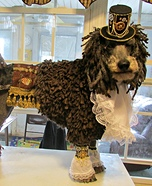 Top Hat Steam Punk Dog Homemade Costume