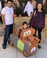 Tow Mater Homemade Costume
