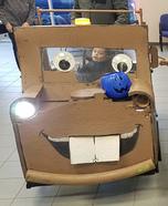 Tow Mater Homemade Costume