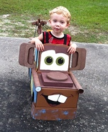 Tow Mater the Tow Truck Homemade Costume