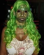 Toxic Mermaid Homemade Costume