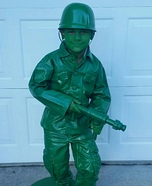 Toy Soldier from Toy Story Homemade Costume