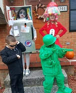 Toy Soldier, Gumball Machine, Secret Agent and a Zombie in the Freezer Homemade Costume