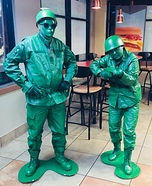 Toy Soldiers Couple Homemade Costume