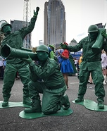 Toy Soldiers from Toy Story Homemade Costume