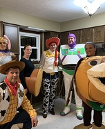 Toy Story 4 Group Costume