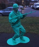 Toy Story Army Man Homemade Costume