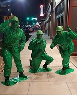 Toy Story Army Men Homemade Costume