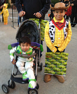Toy Story Buzz and Woody Costume