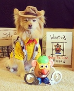 Toy Story Dog Homemade Costume