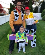 Toy Story Family Homemade Costume