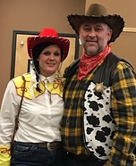 Toy Story Jessie and Woody Homemade Costume