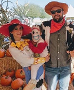 Toy Story: Jessie, Forky and Woody Homemade Costume