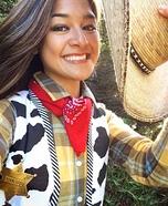 Toy Story Sheriff Woody Homemade Costume