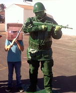 Toy Story Soldier Homemade Costume