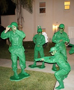 Group costume ideas - Toy Story Soldiers Costume