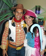 Toy Story's Woody and Bo Peep Couple Costume