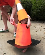 Traffic Cone Homemade Costume