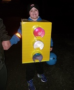 Traffic Light Homemade Costume
