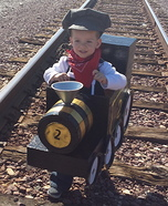 Train and Engineer Homemade Costume