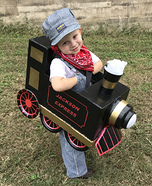Train Conductor for the Jackson Express Homemade Costume