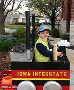 DIY Train Engineer Costume