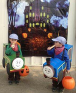 Train Set Homemade Costume