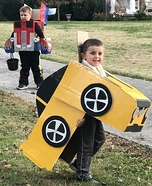 Tranforming Transformers Homemade Costume