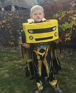 Transformer Homemade Costume