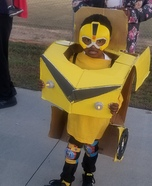 Transformer Autobot Bumblebee Homemade Costume