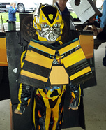 Transformer Bumble B Homemade Costume