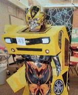 Transformable Bumblebee Transformer Camaro Homemade Costume