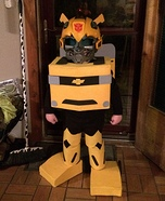 Transformer Bumblebee Boy's Costume