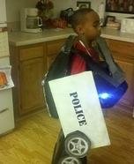 Transformer Cop Car DIY Costume