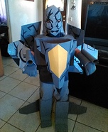 Transformer Decepticon Starscream Homemade Costume