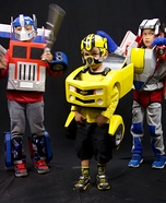 Transformers Homemade Costume