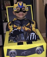 Transformers Bumble Bee Homemade Costume