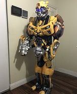 Transformers Bumblebee Homemade Costume