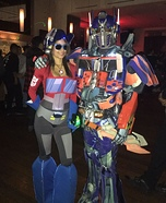 Transformers Couple Costume