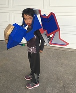 Transformers Jet Fighter Homemade Costume