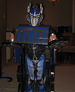 Transformers Optimus Prime Homemade Costume